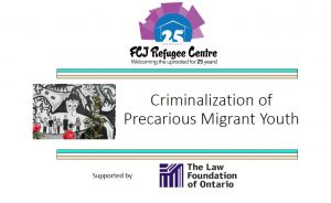 Criminalization of Precarious Migrant Youth