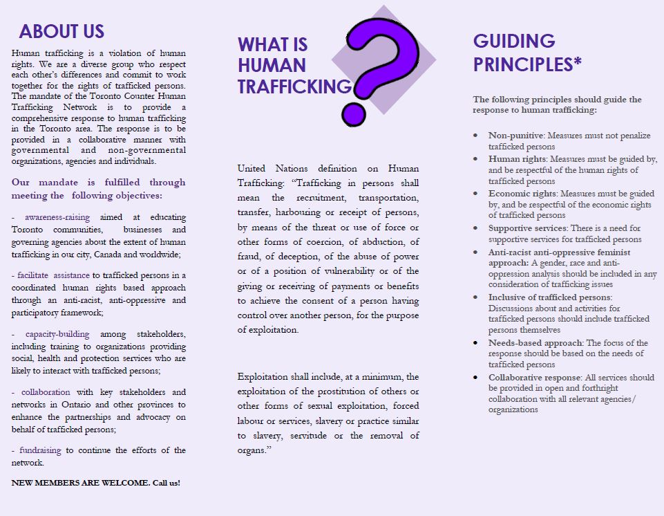 Human trafficking in the philippines research paper
