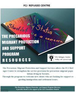 Precarious Migrant Directory