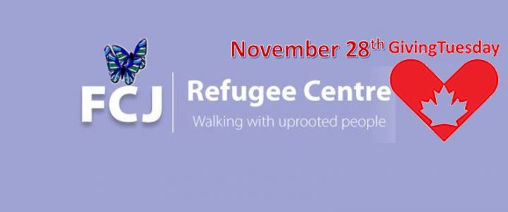 Support FCJ Refugee Centre on Giving Tuesday